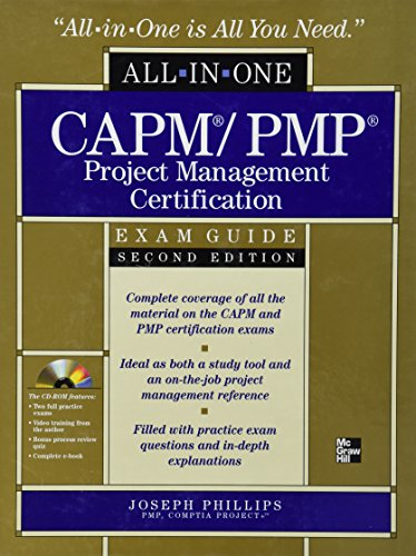 9780071632997: CAPM/PMP Project Management Certification All-in-One Exam Guide with CD-ROM, Second Edition