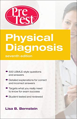 9780071633017: Physical Diagnosis PreTest Self Assessment and Review, Seventh Edition (PreTest Clinical Medicine)