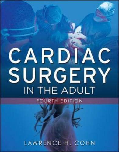9780071633123: Cardiac surgery in the adult. Con DVD