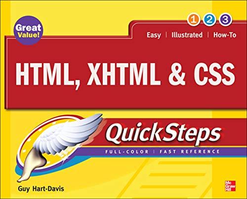 9780071633178: HTML, XHTML & CSS QuickSteps