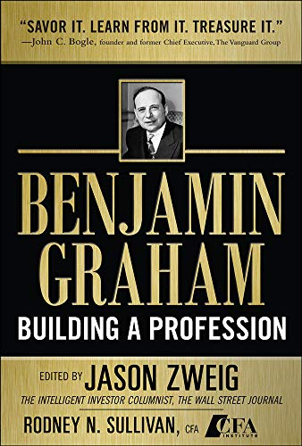 9780071633260: Benjamin Graham, Building a Profession: The Early Writings of the Father of Security Analysis (Professional Finance & Investment)