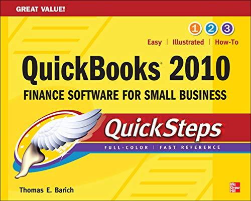 9780071633321: QuickBooks 2010 QuickSteps