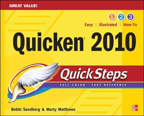 9780071633369: Quicken 2010 QuickSteps