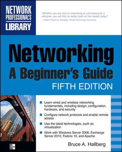 9780071633550: Networking, A Beginner's Guide, Fifth Edition (Networking Professional's Library)