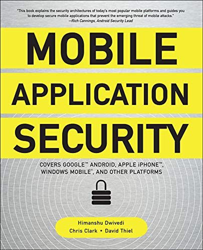 9780071633567: Mobile Application Security (Networking & Comm - OMG)