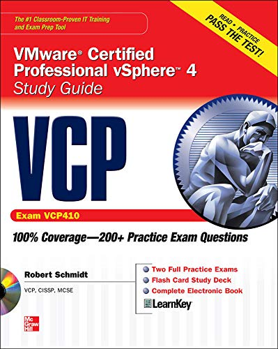 9780071633680: VCP VMware Certified Professional vSphere 4 Study Guide (Exam VCP410) with CD-ROM (Certification Press)