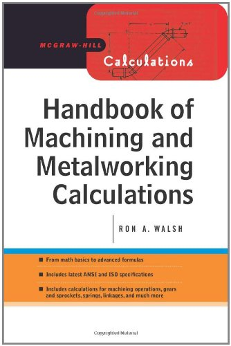 9780071633918: Handbook of Machining and Metalworking Calculations