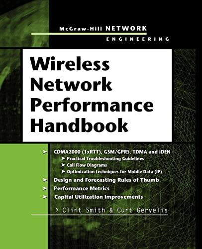 9780071634618: Wireless Network Performance Handbook