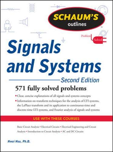 9780071634724: Schaum's Outline of Signals and Systems, Second Edition (Schaum's Outline Series)