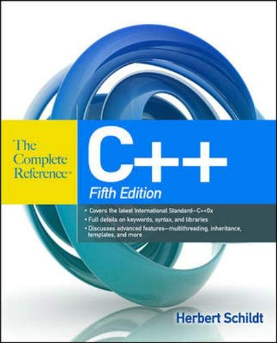 9780071634809: C++ The Complete Reference, 5th Edition