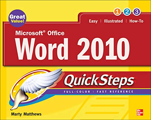 9780071634878: Microsoft Office Word 2010 QuickSteps