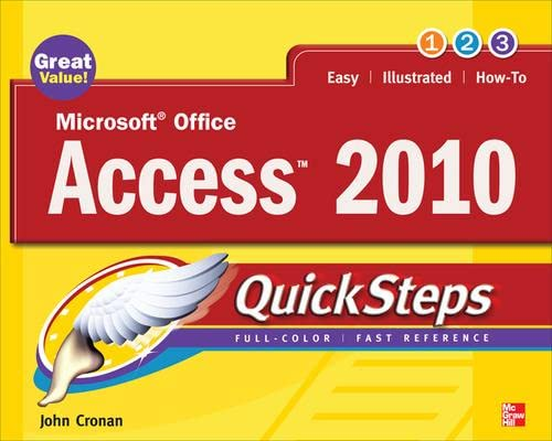 9780071634946: Microsoft Office Access 2010 QuickSteps