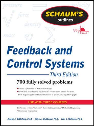 9780071635127: Schaum's Outline of Feedback and Control Systems, 2nd Edition (Schaum's Outline Series)