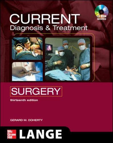 9780071635158: CURRENT Diagnosis and Treatment Surgery: Thirteenth Edition (LANGE CURRENT Series)