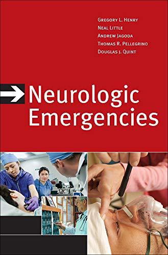 9780071635219: Neurologic Emergencies, Third Edition (Emergency Medicine)