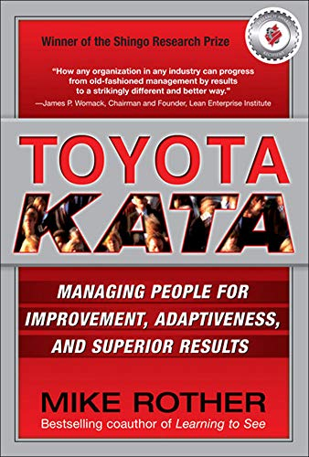 9780071635233: Toyota kata. Managing people for continuous improvement and superior results