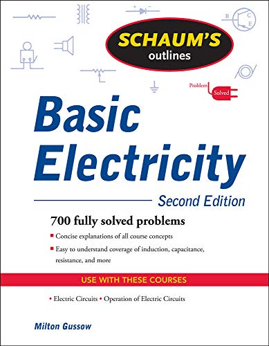 9780071635288: Schaum's Outline of Basic Electricity, Second Edition (Schaums' Engineering)