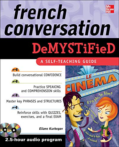 9780071635448: French Conversation Demystified with Two Audio CDs