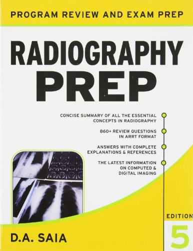9780071635813: Lange Q&A for the Radiography Exam and Radiography PREP Val-Pack (LANGE Reviews Allied Health)