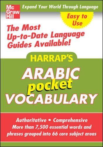 9780071636155: Harrap's Pocket Arabic Vocabulary (Harrap's Language Guides)