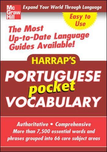 9780071636193: Harrap's Pocket Portuguese Vocabulary (Harrap's Language Guides)