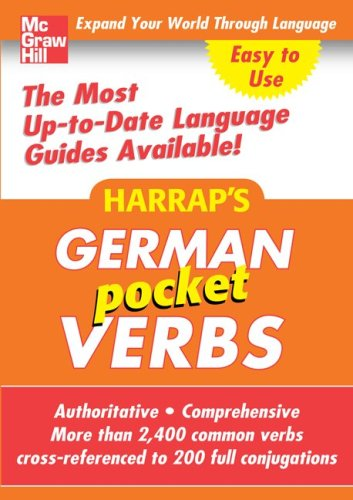 9780071636209: Harrap's Pocket German Verbs (Harrap's Language Guides)