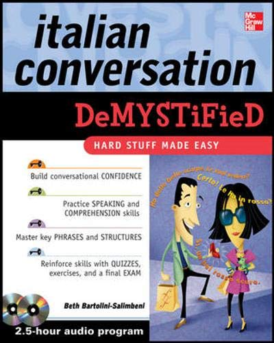 9780071636582: Italian Conversation DeMYSTiFied with Two Audio CDs