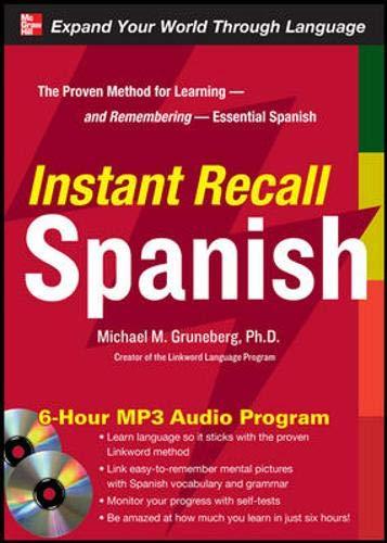 9780071637206: Instant Recall Spanish, 6-Hour MP3 Audio Program