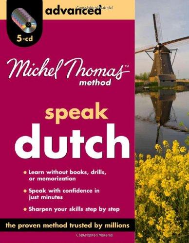 9780071637411: Michel Thomas Method Dutch Advanced, 4-CD Program (Michel Thomas Series)