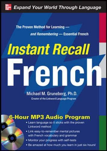 9780071637787: Instant Recall French, 6-Hour MP3 Audio Program