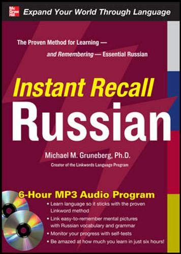 9780071637831: Instant Recall Russian, 6-Hour MP3 Audio Program