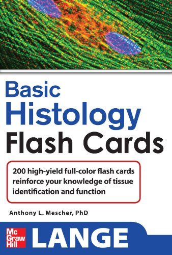 9780071637985: Lange Basic Histology Flash Cards (Lange Flashcards)