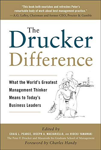 9780071638005: The Drucker Difference: What the World's Greatest Management Thinker Means to Today's Business Leaders (Business Books)
