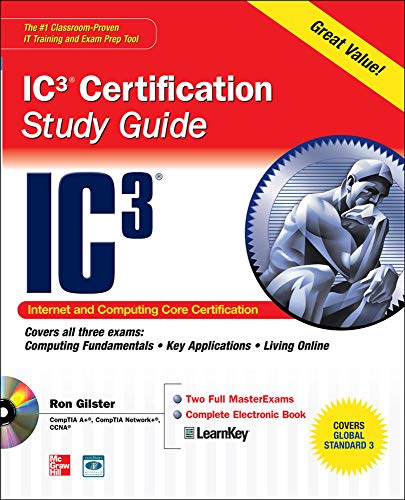 9780071638111: Internet Core and Computing IC3 Certification Global Standard 3 Study Guide (Certification Press)