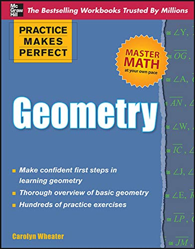 9780071638142: Practice Makes Perfect Geometry (Practice Makes Perfect (McGraw-Hill))