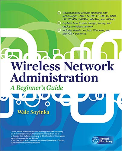 9780071639217: Wireless Network Administration A Beginner's Guide (Network Pro Library)