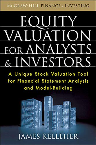 9780071639231: Equity Valuation for Analysts and Investors (Professional Finance & Investment)