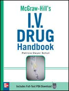 9780071640145: McGraw-Hill's I.V. Drug Handbook