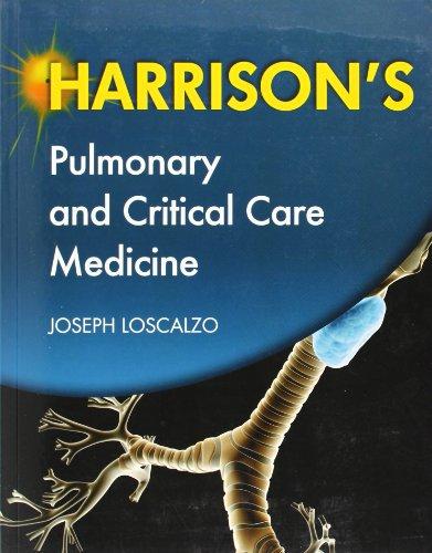 9780071663373: Harrison's Pulmonary and Critical Care Medicine