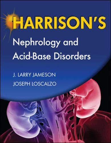 9780071663397: Harrison's Nephrology and Acid-Base Disorders