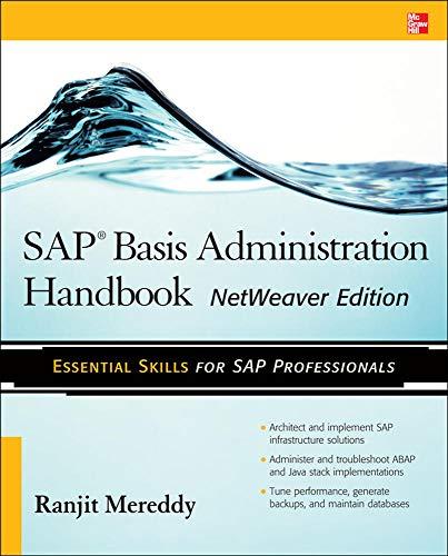 9780071663489: SAP Basis Administration Handbook, NetWeaver Edition (Database & ERP - OMG)