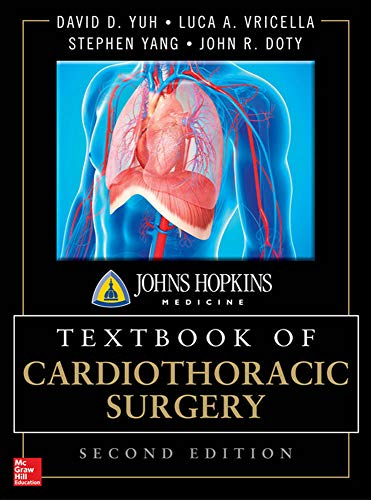 9780071663502: Johns Hopkins Textbook of Cardiothoracic Surgery, Second Edition