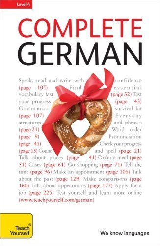 9780071663786: Complete German: A Teach Yourself Guide (Teach Yourself Language)