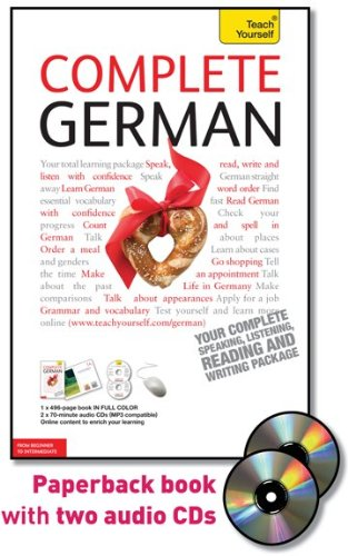9780071663823: Teach Yourself Complete German [With Paperback Book] (Teach Yourself: Language)