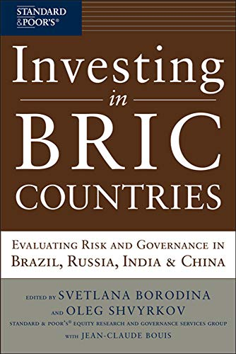 9780071664066: Investing in BRIC Countries: Evaluating Risk and Governance in Brazil, Russia, India, and China