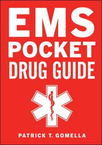 9780071664073: EMS Pocket Drug Guide
