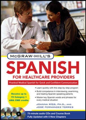 9780071664271: McGraw-Hill's Spanish for Healthcare Providers, Second Edition (McGraw-Hill's Spanish for Healthcare Providers (W/CDs))