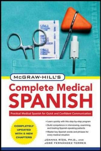 9780071664295: McGraw-Hill's complete medical spanish