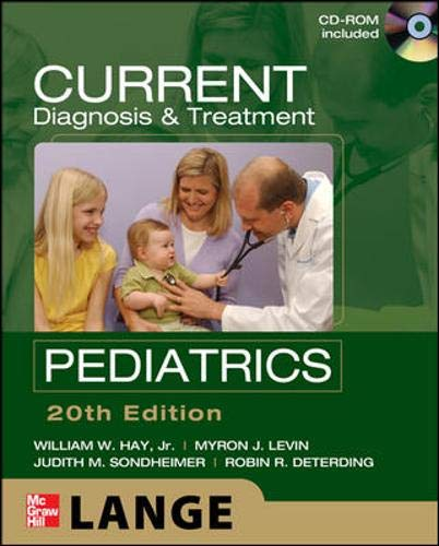 9780071664448: CURRENT Diagnosis and Treatment Pediatrics, Twentieth Edition (LANGE CURRENT Series)