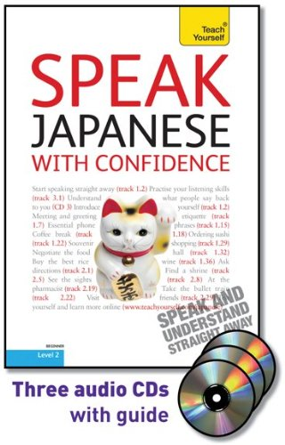 9780071664639: Speak Japanese with Confidence with Three Audio CDs: A Teach Yourself Guide (TY: Conversation)